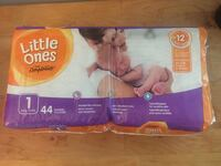 44 Little Ones Diapers - Size 1 Toronto, M4N 2K4