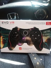 black and red Sony PS3 controller box