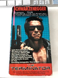 The making of The Terminator VHS - rare