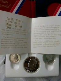 U.S. Mint's Bicentenial Silver Proof Set Baltimore