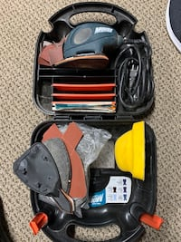 Black and Decker mouse model MS500, sander and polisher