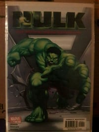 Marvel Hulk comic book
