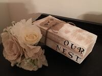 Our Nest Painted Stacked Books Lusby, 20657