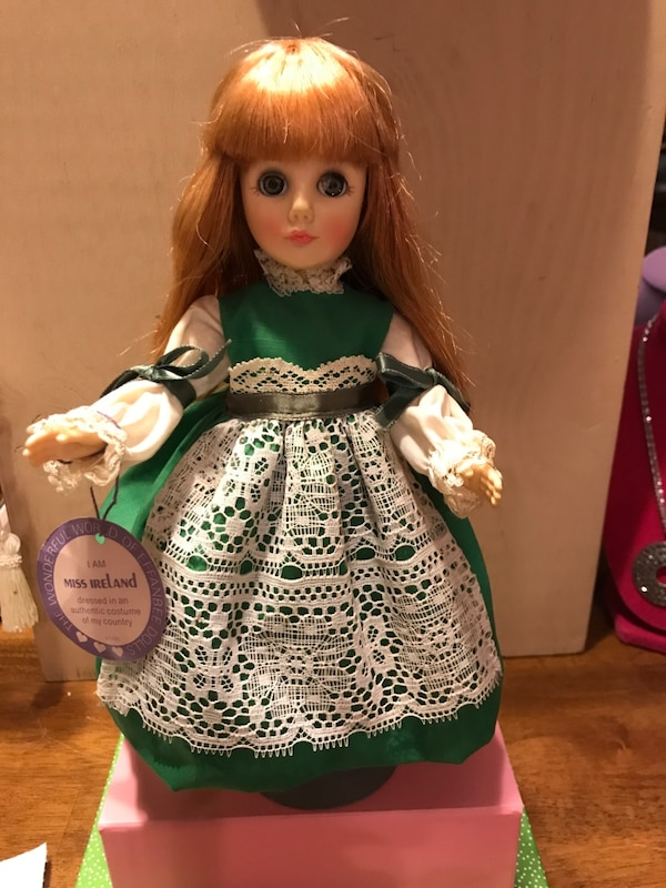 Collectible Miss IRELAND Doll