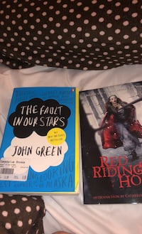 2 books Red riding hood and the fault in our stars Brookeville, 20833