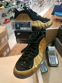 Nike Foamposite One Metallic Gold Size 10.5 Wheaton-Glenmont, 20902