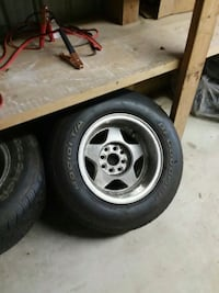 Deep dish rims and tires.14 Youngstown, 44512