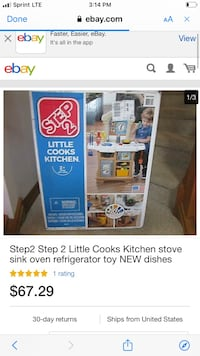 Kids kitchen set Aberdeen, 21001