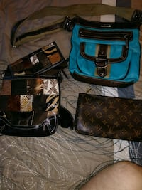 black and blue leather bags Anniston, 36206