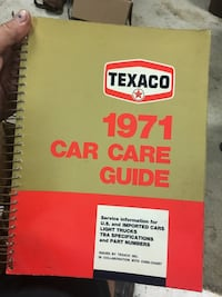 TEXACO CATALOG  Bluff City, 37618