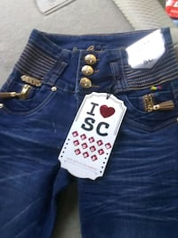 blue denim jeans and white and black textile Salinas, 93905