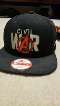 black Civil War 9 Fifty snapback