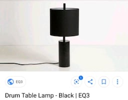 Eq3 Drum Table Lamp