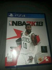 NBA 2K18 PS4 game New Port Richey, 34652