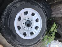 3/4 ton Chevy tires with rims Reading