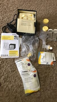 white and black Medela electric breast pump Austin, 78759