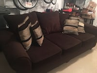 LAST CALL Brown sofa with pillows Chattanooga, 37421
