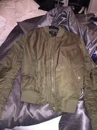 Top shop bomber- army green