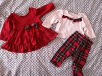 Baby Girl Holiday Clothes 0-3 Months  Mississauga, L5N 6T7