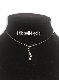 14k Journey diamond necklace  Alexandria, 22304