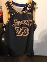 black and yellow Lakers 24 jersey Columbus, 43235