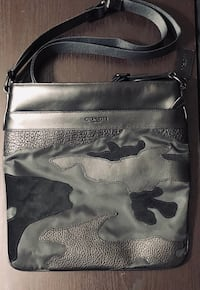 Men's coach blacked out camouflage crossbody bag Gaithersburg
