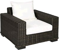 All weather wicker patio chair