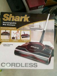 Shark rechargeable pro sweeper cordless