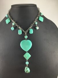 New Howlite Turquoise Necklace