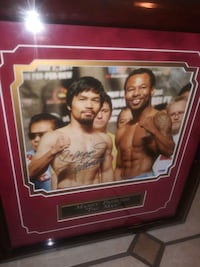 Manny Pacquiao autographed certified Henderson, 89015