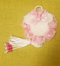 pink and white Mickey Mouse tulle hairbow organize El Paso, 79925