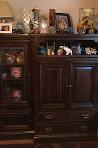 Storage and display TV Cabinet.