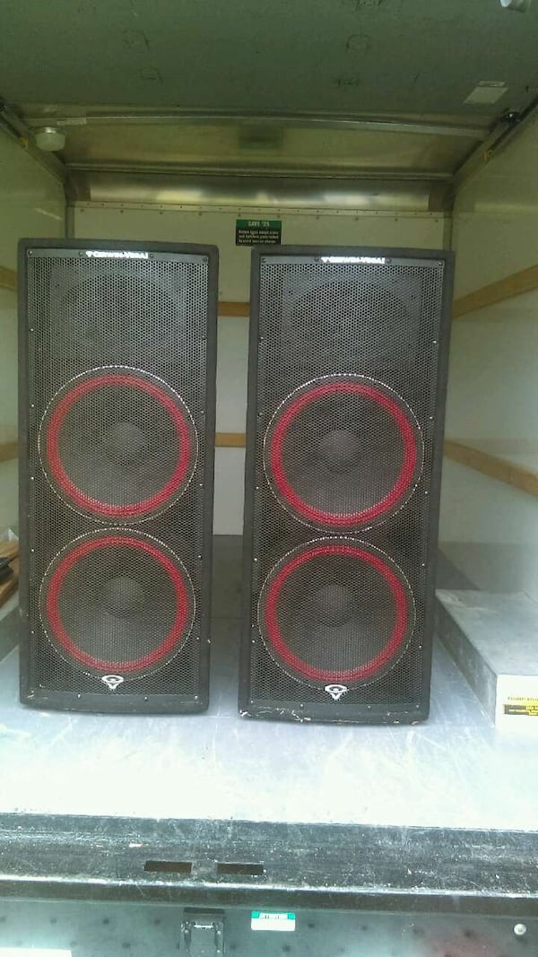 Used Cerwin Vega Pa Speakers For Sale In Mt Pleasant Letgo
