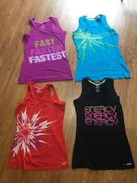 Workout tank tops, size small - $3 each or take all for $10 Oshawa, L1K 1W6