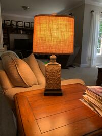 2 table lamps-one with lampshade Charlotte, 28216