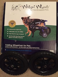 Dog wheel chair/ Walkin' Wheels