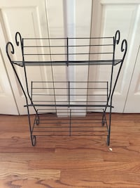 Mid century modern wire side shelf Chicago
