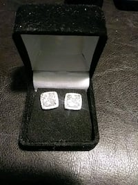925 Sterling Silver and white topaz earrings Pueblo West, 81007