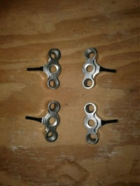 ALUMINUM STEERING KNUCKLES FOR RC T-MAXX 2.5 AND E Virginia Beach, 23454