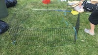 Black metal play pen n for training for dog  Toronto, M3L 1B5