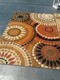 brown, white, and black area rug Sebring, 33872