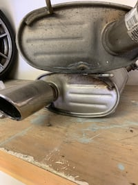 Exhaust set from Ford - Mustang - 2013 Charleston