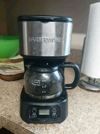 black and gray Hamilton Beach coffeemaker Woodbridge, 22192