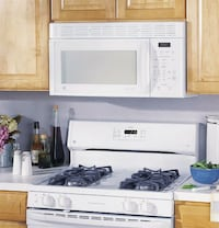 white and black gas range oven and white microwave oven Pomona, 91767