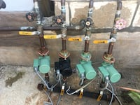Four boiler circulator pumps all working great with valves Edgartown