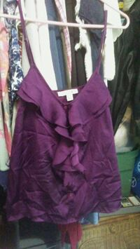 purple and black v-neck sleeveless dress Goose Creek, 29445