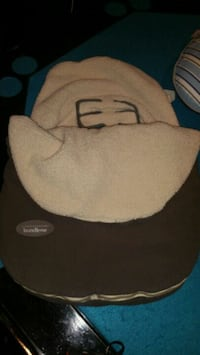 Infant carrier winter cover