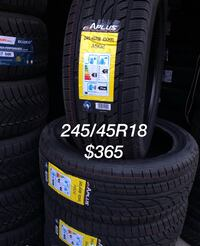 245/45R18 brand new winter tire Richmond Hill, L4B