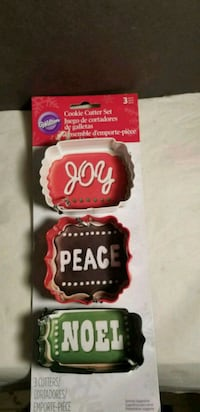 Wilton Cookie Cutter Set - 3 Pieces Joy, Peace, No 69 km