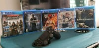 5 Ps4 games and 1 ps4 controller Nesquehoning, 18240